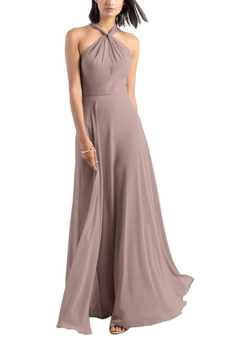 Jenny Yoo Halle Bridesmaid Dress in Wisteria - Front