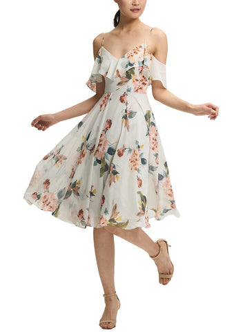 Jenny Yoo Kelli Print Bridesmaid Dress