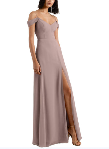 Jenny Yoo Priya Bridesmaid Dress in Wisteria - Front