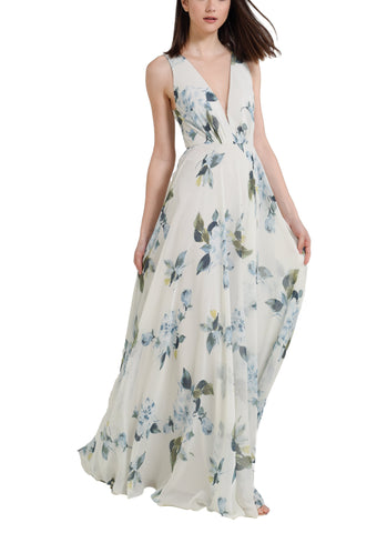 Jenny Yoo Ryan Print Bridesmaid Dress