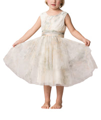 Jenny Yoo Etsy Print Flower Girl Dress