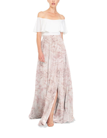 Joanna August Natasha Long Skirt Print