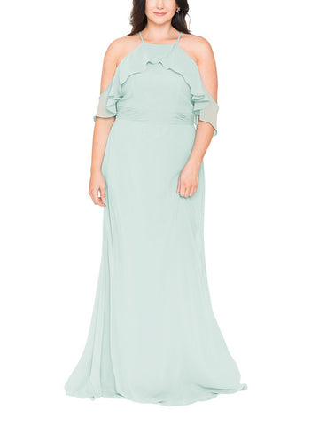 Brideside Lupita Bridesmaid Dress in Power - Front