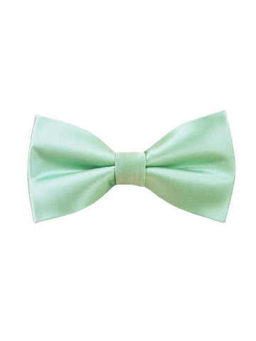 The Tie Bar Solid Spearmint Bow Tie