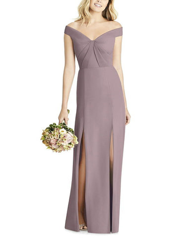Social Bridesmaids Style 8186 in Dusty Rose - Front