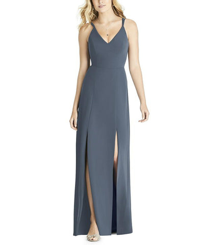 Social Bridesmaids Style 8187 in Silverstone - Front