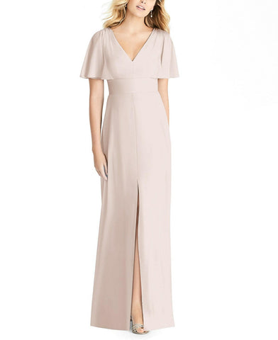 Social Bridesmaids Style 8188 in Blush - Front