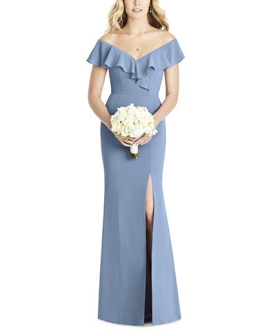 Social Bridesmaids Style 8190 in Cloudy - Front