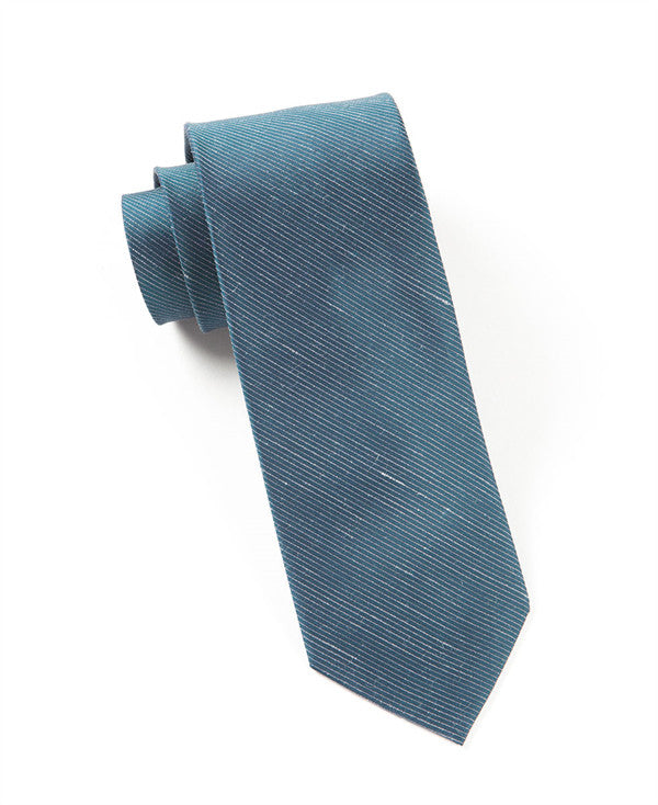 The Tie Bar Fountain Solid Deep Serene Blue Necktie