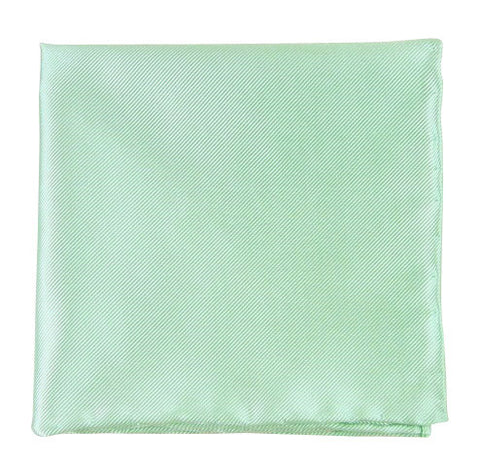 The Tie Bar Solid Twill Spearmint Pocket Square