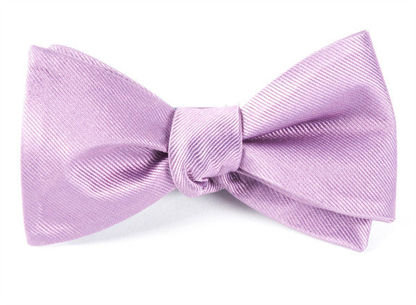 1d264571a604a The Tie Bar Grosgrain Solid Wisteria Bow Tie