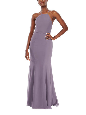 Aura Vega Bridesmaid Dress in Amethyst - Front
