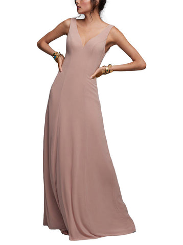 Watters Garnet Bridesmaid Dress
