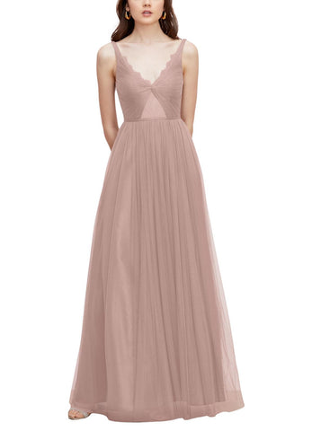 Watters Kyla Bridesmaid Dress in - Blush - Front