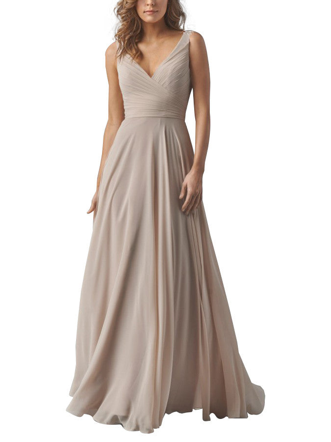 Vanilla Bridesmaid Dress
