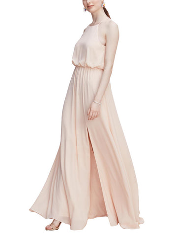 Wtoo by Watters Bennet Bridesmaid Dress in Pink Tulip - Front