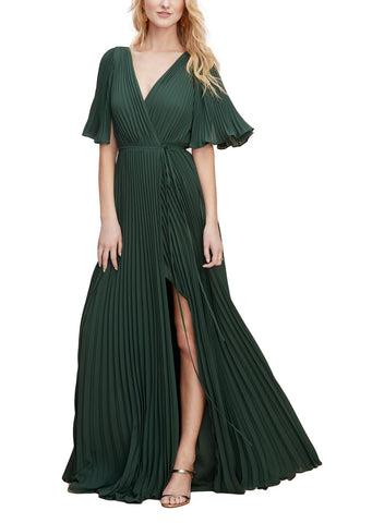Wtoo by Watters Geneva Bridesmaid Dress in Evergreen - Front