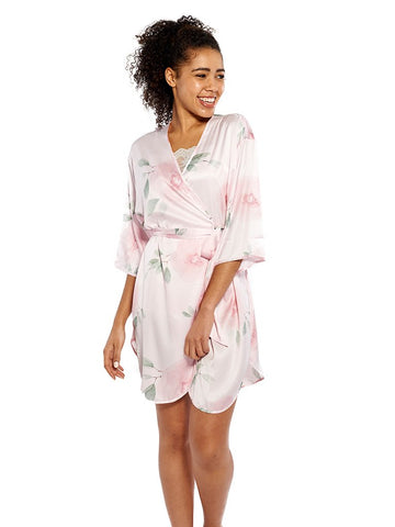 Blossom Robe in Blush