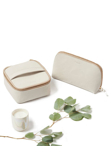 Brideside Leather Cosmetic Case