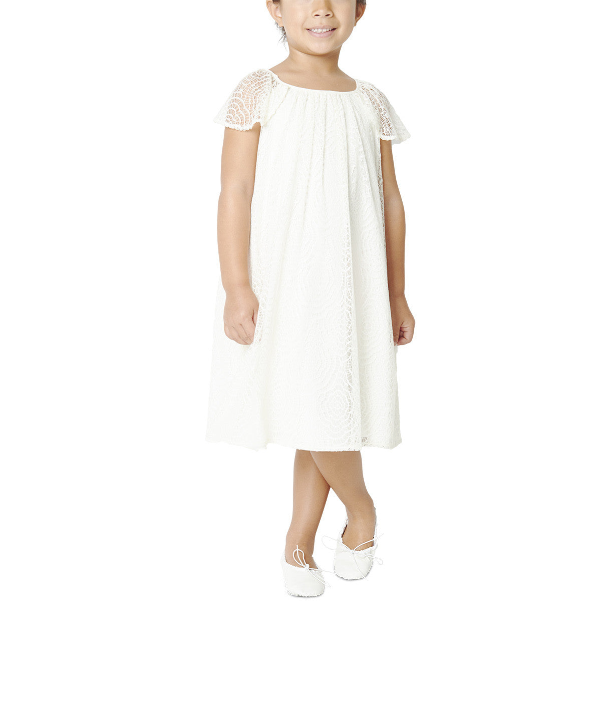Joanna August Flower Girl Dress Anabel Lace