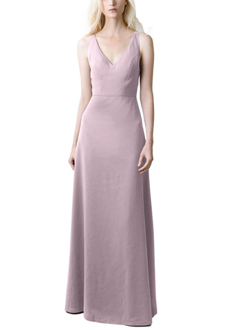 Jenny Yoo Delaney Bridesmaid Dress in Sweet Pea - Front