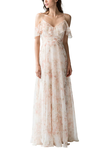 Jenny Yoo Mila Print Bridesmaid Dress