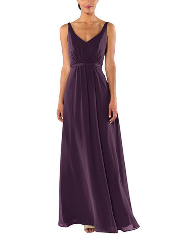 Brideside Mary-Kate in Eggplant