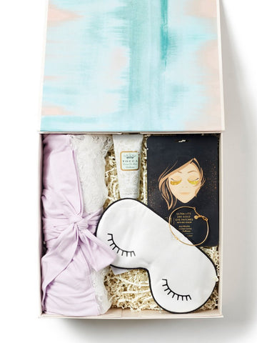 Pamper / Soft Lavender Gift Box