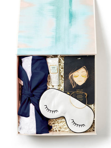 Pamper / Soft Navy Gift Box