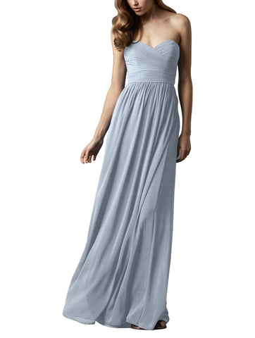 Watters Pine Bridesmaid Dress