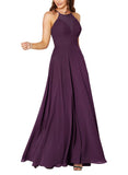 Sorella Vita Bridesmaid Dress Style 9292 in Aubergine - Front