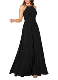 Sorella Vita Bridesmaid Dress Style 9292 in Black - Front