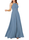 Sorella Vita Bridesmaid Dress Style 9292 in Bluestone - Front