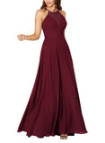 Sorella Vita Bridesmaid Dress Style 9292 in Burgundy - Front