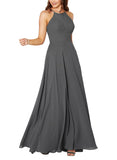 Sorella Vita Bridesmaid Dress Style 9292 in Charcoal - Front