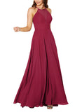 Sorella Vita Bridesmaid Dress Style 9292 in Cranberry - Front