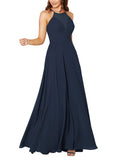 Sorella Vita Bridesmaid Dress Style 9292 in Navy - Front