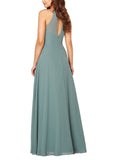 Sorella Vita Bridesmaid Dress Style 9292 in Eucalyptus - Back