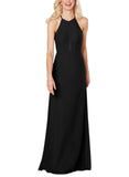 Sorella Vita Bridesmaid Dress Style 9330 in Black - Front
