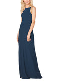 Sorella Vita Bridesmaid Dress Style 9356 in Sapphire - Front