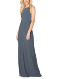 Sorella Vita Bridesmaid Dress Style 9356 in Slate - Front