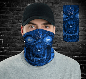Dallas Cowboys Skull  Unisex Neck Gaiter & Bandana
