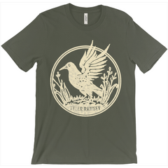 Black Bird T-Shirt (Cream)