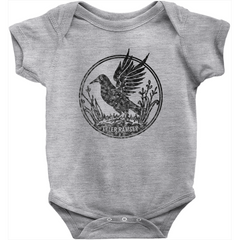 Black Bird Onesie