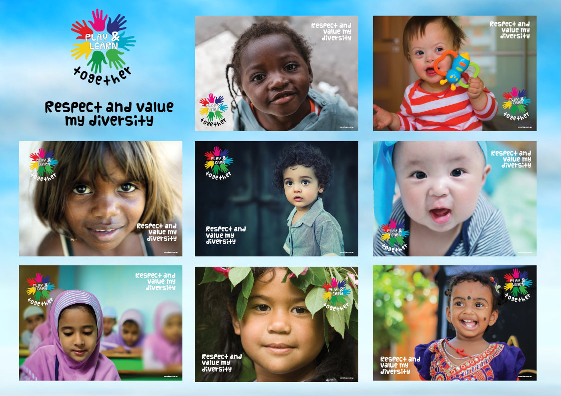 Diversity Posters - Butler Creative Childcare Resources New Zealand