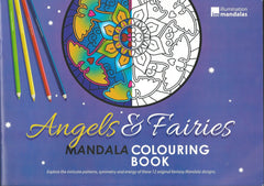 Angels and Fairies Colouring Book