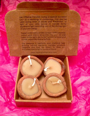 Offering Beeswax Candles