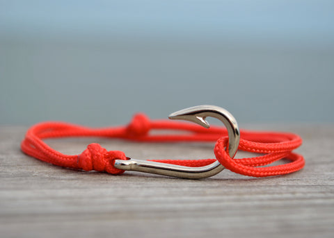 On the Cape Mini Fish Hook Bracelet Wrap