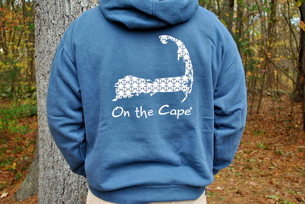 On the Cape Anchor Hooded Sweatshirt - On the Cape