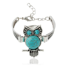Load image into Gallery viewer, Antique Owl Shaped Chain Bracelet